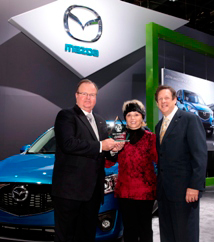2013 Mazda CX-5 Named 2013 Earth, Wind & Power Truck of the Year - Most Earth Friendly by Road & Travel Magazine