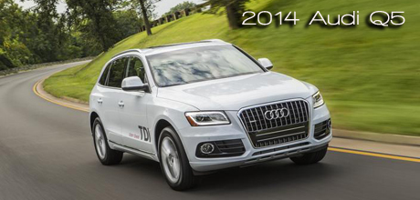 2014 Audi Q5 Diesel Named 6th Annual Earth, Wind & Power SUV of the Year - Most Earth Aware