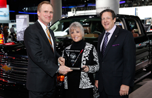 2014 Chevy Silverado Named 2014 International Truck of the Year