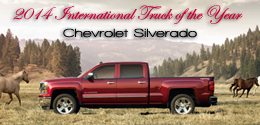 2014 Chevrolet Silverado Named 2014 International Truck of the Year by Road & Travel Magazine