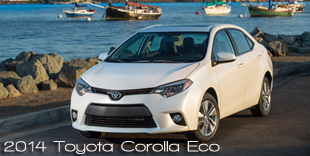2014 Earth Wind & Power - Most Earth Aware Car of the Year Goes to the 2014 Toyota Corolla