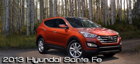 2013 Hyundai Sante Fe Road Test Review by Martha Hindes : RTM's 2013 CUV Buyer's Guide