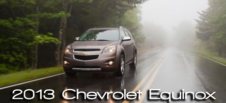 2013 Chevrolet Equinox Road Test Review : Road & Travel Magazine